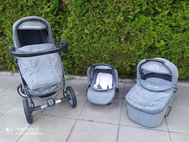 Wózek dziecięcy Baby-Merc Exclusive Q7 3w1