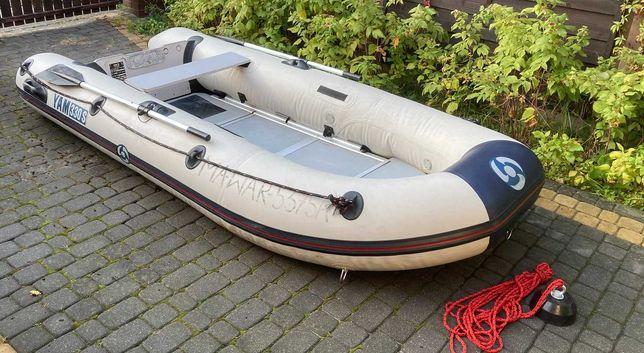 Wynajem - ponton wędkarski z podłogą dla 1/2 osób