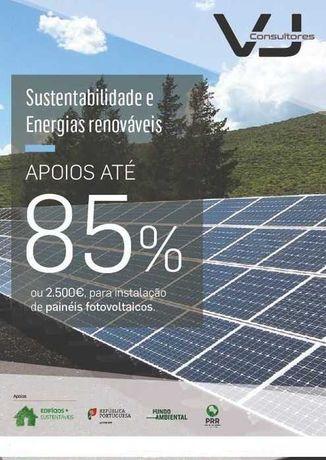 Painéis Solar Fotovoltaico - Autoconsumo - Fundo Ambiental