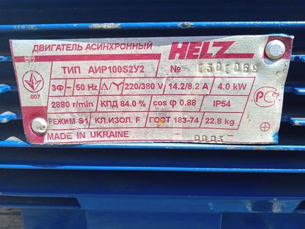 Электродвигатель 4 кв 3000 об.