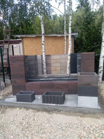 Ogrodzenia betonowe:Joniec,Combet,gazony,palisady, Panele ogrodzeniowe