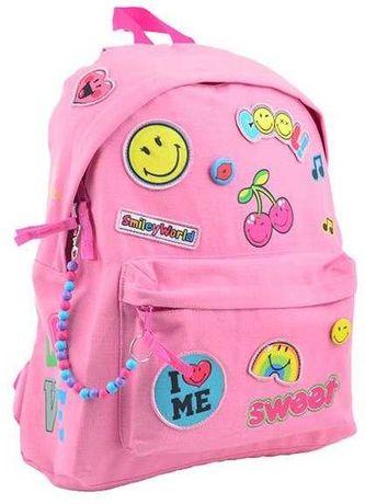 Розовый рюкзак smile