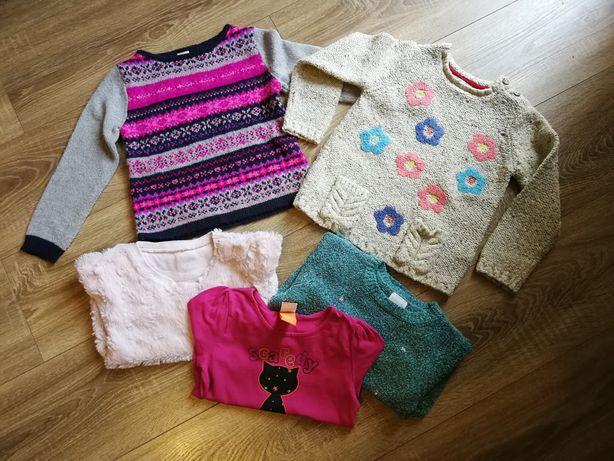 Paczka zestaw sweter, Sweterek, bluzka roz 98/104