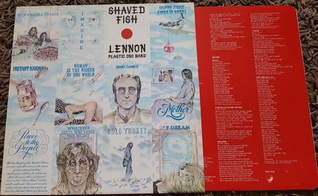 Lenon Plastic Ono Band - Shaved Fish 1 Lp