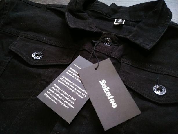 Джинсовая куртка мужская черная куртка джинсовка Джинсова куртка