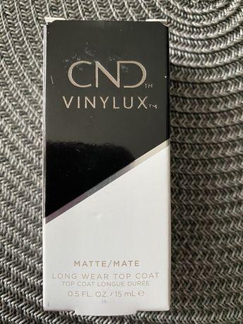 Матовый топ. Cnd vinylux mate long wear top coat