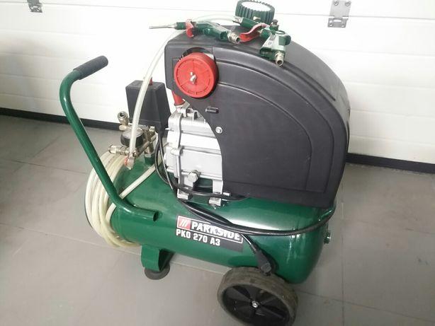 Compressor 24 litros como novo + acessórios