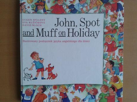 John, Spot and Muff on Holiday, podręcznik języka angielskiego