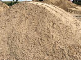 Ziemia na podniesienie piasek do murowania mixokreta żwir gruz koparka
