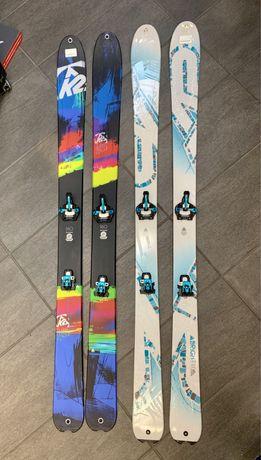 -50% Narty Skiturowe Freeride K2 Brightside 90 167 Dynafit, marker!