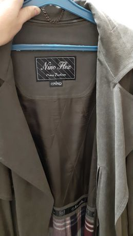 Винтажный мужской плащ nino flex L даже XL