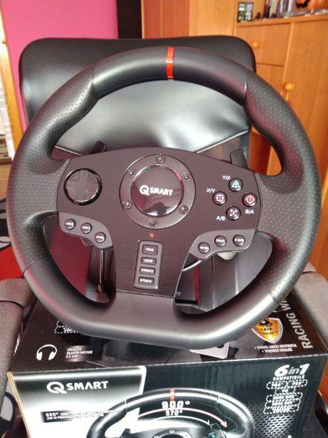 Jak Nowa kierownica Q-SMART RALLY GT900 - GWARANCJA