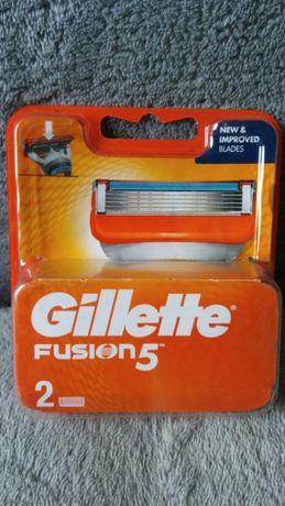 Gillette, Fusion5, wkłady do maszynki do golenia, 2 szt