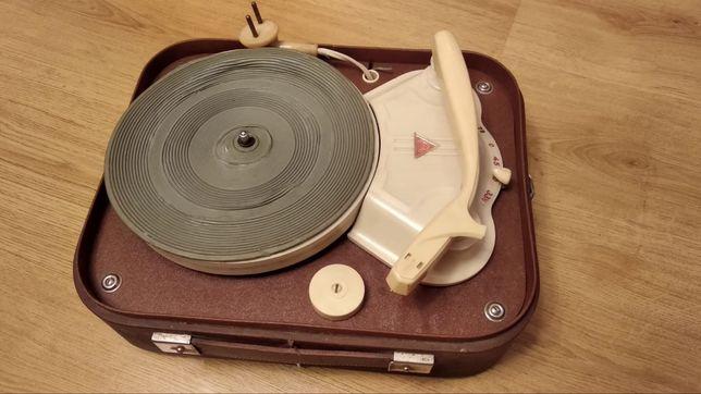 Gramofon elektryczny bezwzmacniaczowy, rok prod. 1962