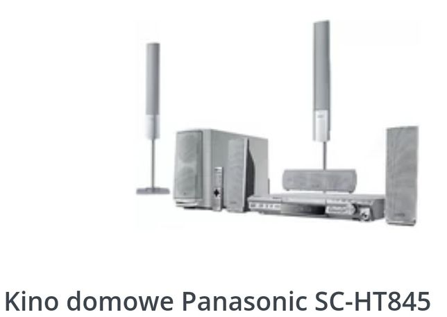 Zestaw kina domowego Panasonic SA HT 845