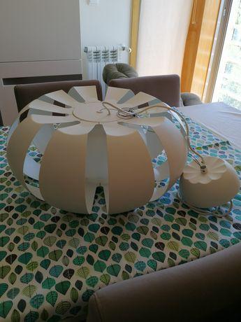 Candeeiro de teto, como novo, marca Ikea