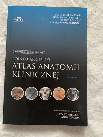 Mcminn polsko-angielski atlas anatomii klinicznej