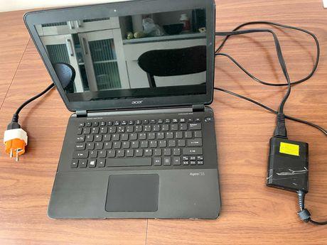 Ультрабук Ноутбук Acer Aspire S5 - Core i5/4GB/128SSD