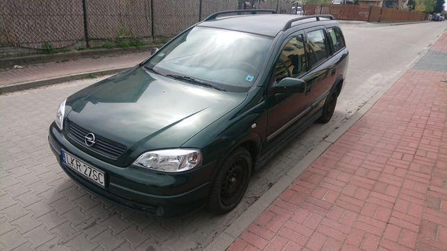 Opel Astra G kombi 1.6 benzyna hak klimatyzacja