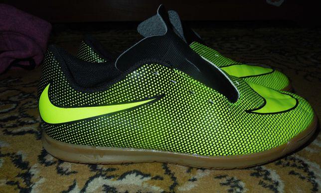 Nike bravatax ii ic jr 38.5р футзалки бампы сороконожки