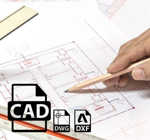 Rysunki techniczne 2D i 3D CAD