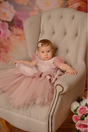 Платье на годик 12-18 месяцев