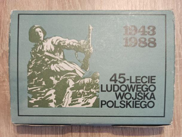 Zapałki 45-Lecie Ludowego Wojska Polskiego 1943-88