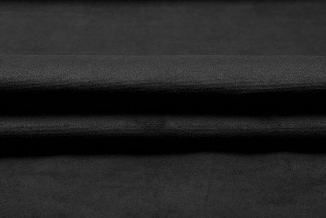 Materiał alcantara czarna antracyt włoski oryginał