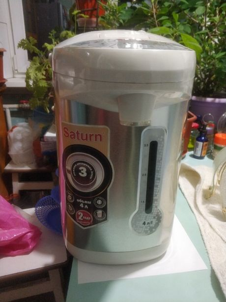 Термопот, электрочайник, термос Saturn st-ek8034