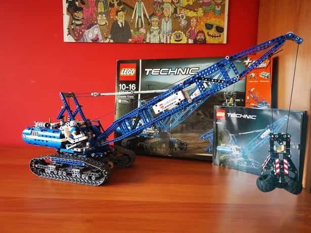 Klocki Lego Technic 42042, żuraw gąsienicowy. Kompletny zestaw.