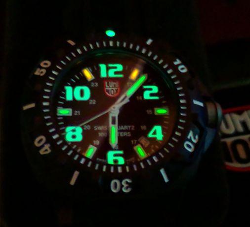 Часы Luminоx XL.0201.SL(сделано в Швейцарии)с тритиевой подсветкой