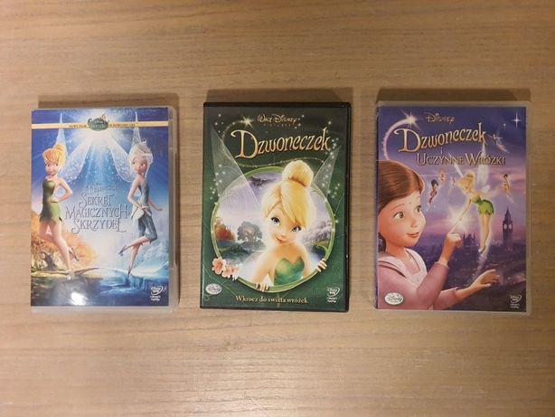 Dzwoneczek - kolekcja 3 filmów - pakiet DVD