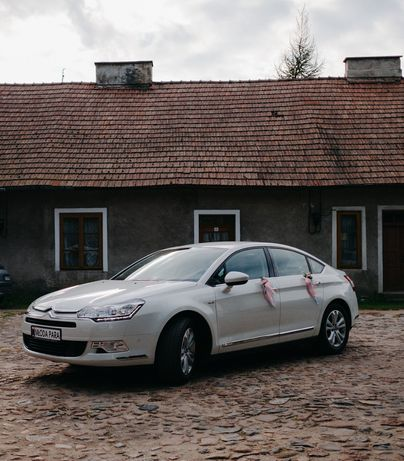 Auto do ślubu Citroen C5
