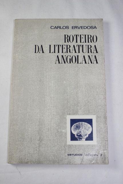 Livro - Roteiro da Literatura Angola - Carlos Ervedosa - 2ª Edição