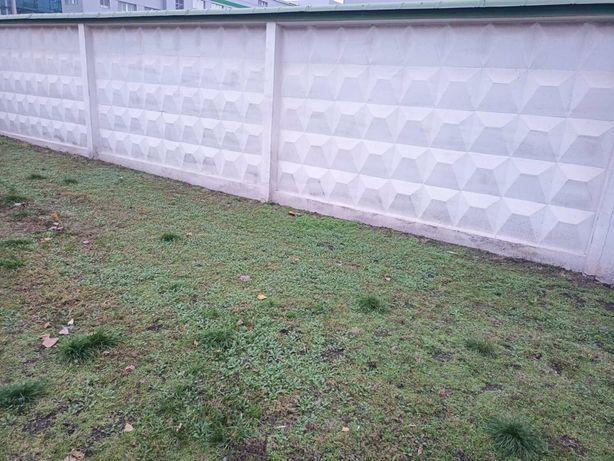 Бетонный забор 4х2,5