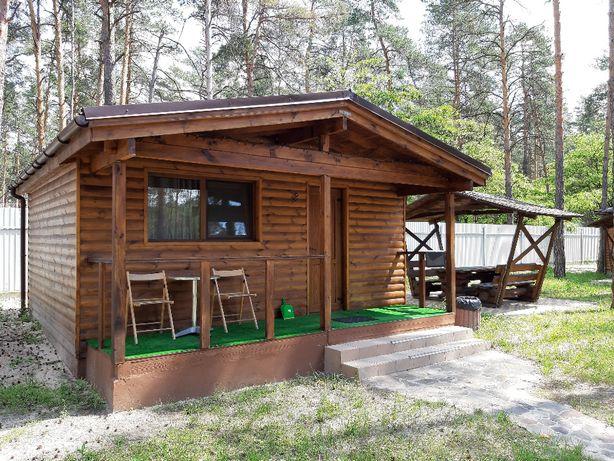 Дом Дача отдых на лето в лесу. река Десна