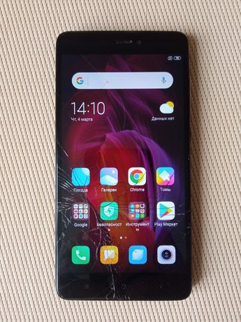 Телефон XIAOMI Redmi Note 4 3/32 Гб