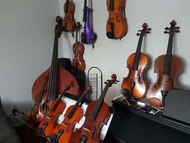 korepetycje, nauka gry na skrzypcach