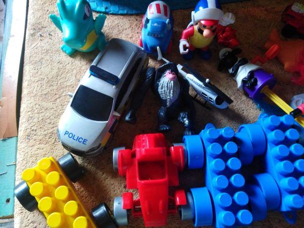 porządki domowe zabawki
