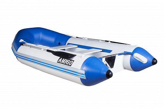 Лодка RIB AMIGO 355 с пластиковым корпусом