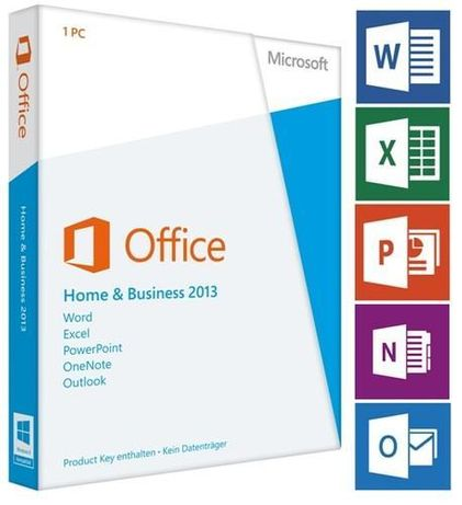 Microsoft Office Home and Business 2013 PL 32/64 NOWA LICENCJA