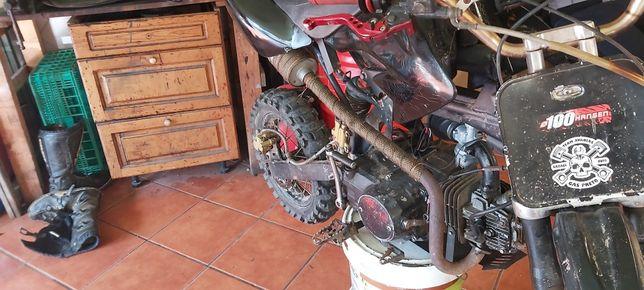 Pit bike 125cc em bom estado