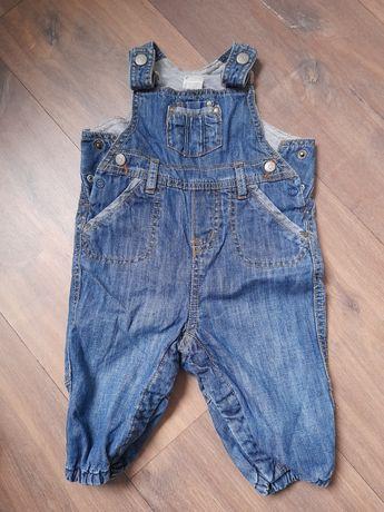 Ogrodniczki jeansy h&m 62