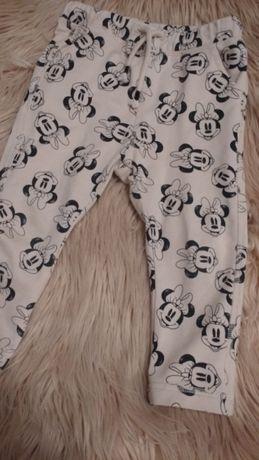 Spodnie H&M myszka 92