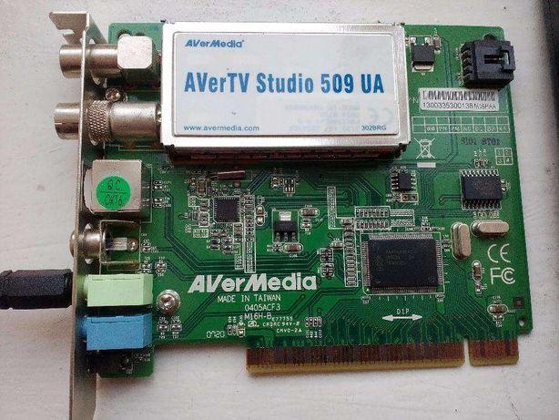 ТВ-тюнер внутрішній AVerMedia AVerTV Studio 509UA