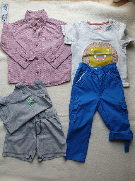 Ubranka dla dziecka 92 zestaw body