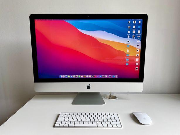 """APPLE iMac RETINA 5K 27"""" 2015 2 TB + 128 GB 32GB ram JAK NOWY pudełko"""