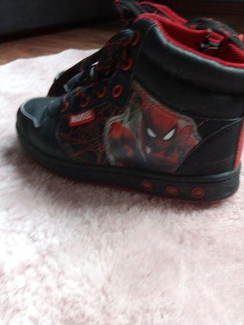 Buty chłopięce Spiderman