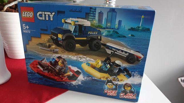 LEGO City Transport łodzi policji specjalnej 60272 Nowe