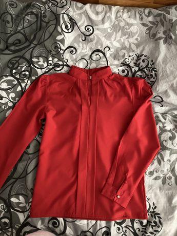 Elegancka bluzka czerwona